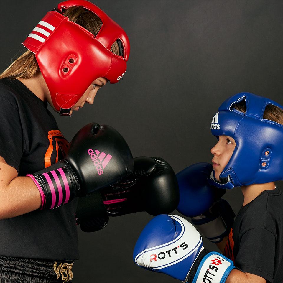 Boxe enfants compétition